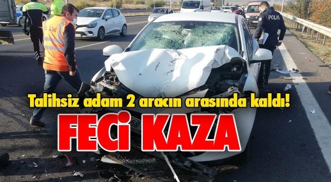 Mersin Tarsus Otoyolunda Meydana Gelen Kazada Mehmet Fatlı Özger Hayatını Kaybetti