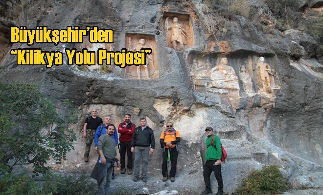 """Büyükşehir'den """"Kilikya Yolu Projesi"""""""