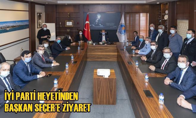 İYİ Parti Heyetinden Başkan Seçer'e Ziyaret