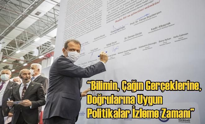 Başkan Seçer, İzmir'de Düzenlenen 'Kentlerde Sürdürülebilir Su Politikaları Zirvesi'ne Katıldı