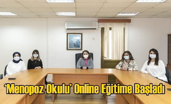 'Menopoz Okulu' Online Eğitime Başladı