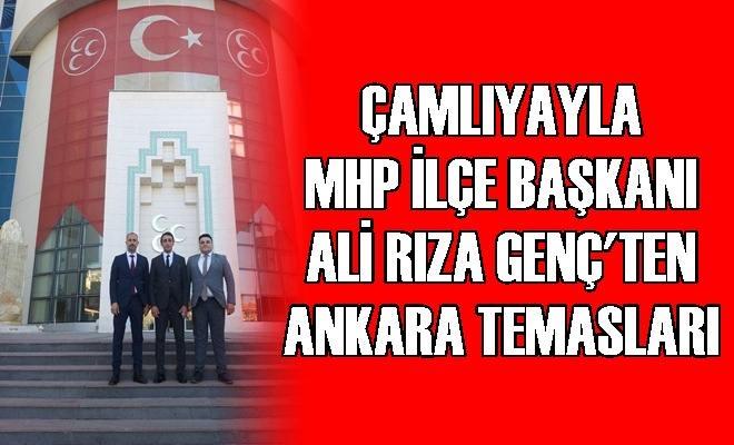 Ali Rıza Genç'ten Ankara Temasları