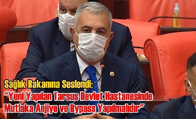 MHP Mersin Milletvekili Baki Şimşek Tarsus'un Bir Sorununu Daha Gündeme Taşıdı