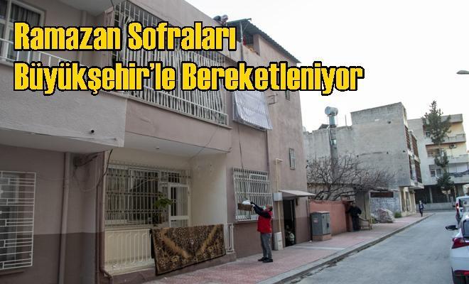 Ramazan Sofraları Büyükşehir'le Bereketleniyor