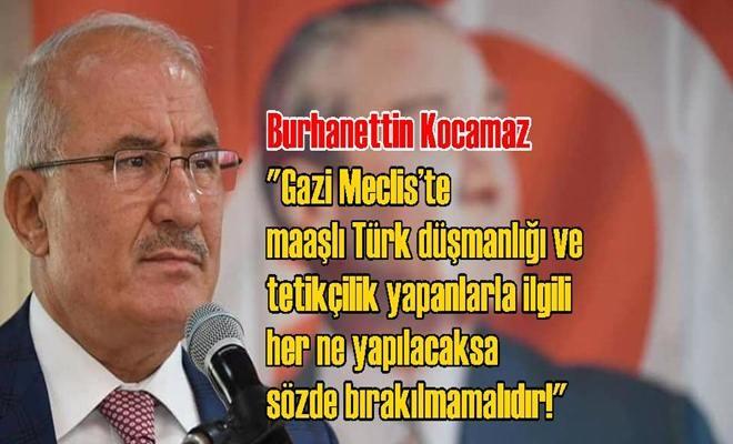 Burhanettin Kocamaz'dan ABD'ye ve HDP'ye Sert Sözler