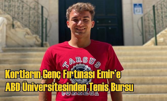 Rıce Üniversitesi'nin Kabul Verdiği Dünyadaki 3 Tenisçi Arasında 1 Türk!