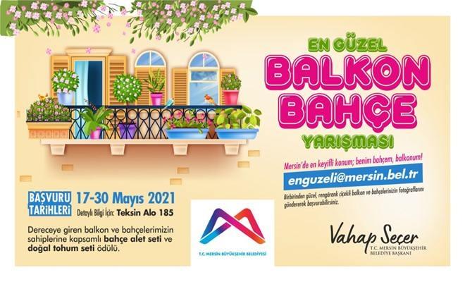 Mersin Büyükşehir'den Rengarenk Yarışma