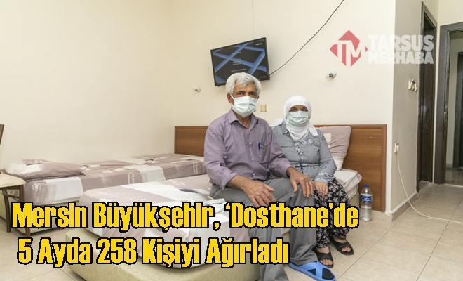 Hasta ve Hasta Yakınları İçin 'Dosthane' Hizmet Sürüyor
