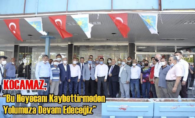 """Kocamaz'ın """"Gönül Seferberliği"""" Durağı Bu Kez Yenişehir ve Akdeniz İlçeleri Oldu"""