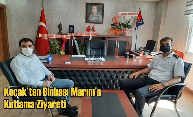 Koçak'tan Binbaşı Marım'a Kutlama Ziyareti