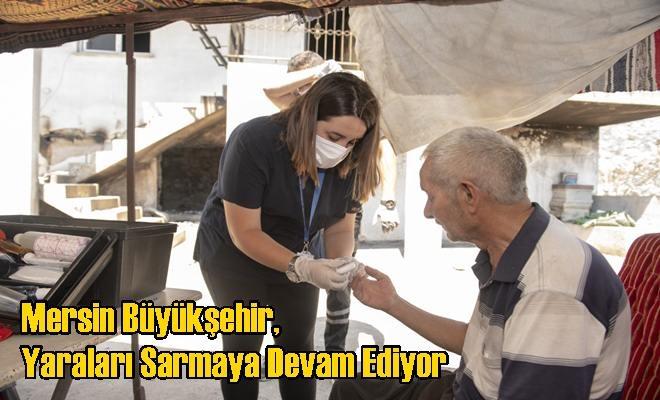 Mersin Büyükşehir, Yaraları Sarmaya Devam Ediyor