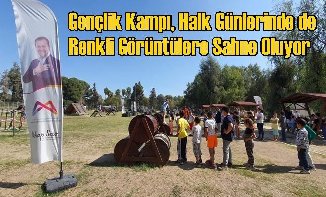 Gençlik Kampı, Halk Günlerinde de Renkli Görüntülere Sahne Oluyor