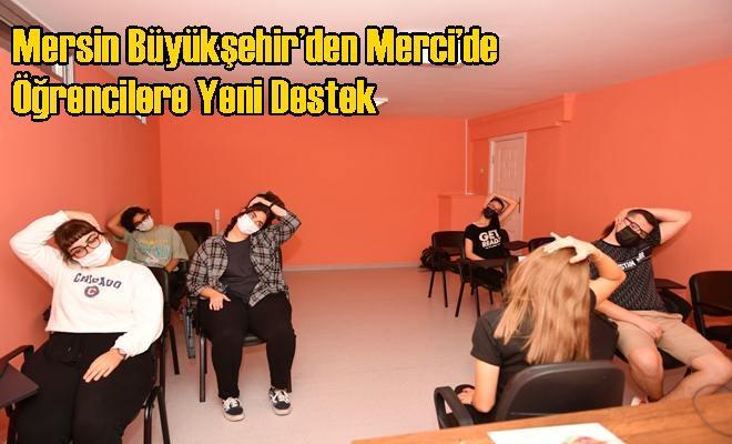 Mersin Büyükşehir'den Merci'de Öğrencilere Yeni Destek