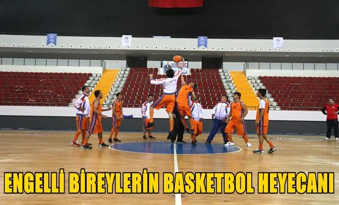 Engelli Bireylerin Basketbol Heyecanı